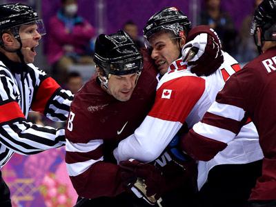 Сочи-2014. Хоккей. Канада – Латвия – 2:1