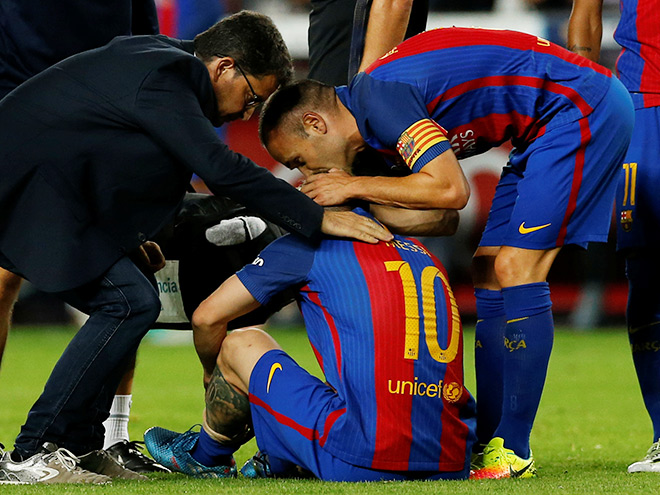 «Барселона» недостаточно тревожится оМесси— Тренер сборной Аргентины