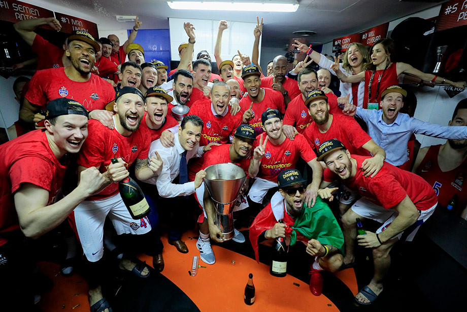 ЦСКА выиграл Евролигу сезона-2018/19