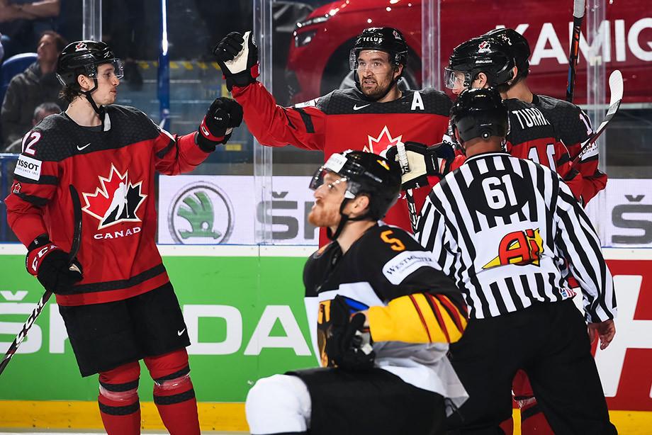 Канада — Германия – 8:1