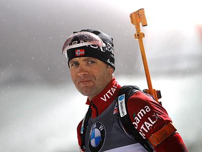 Бьорндален: хочу побить рекорд Дэли на ОИ в Сочи