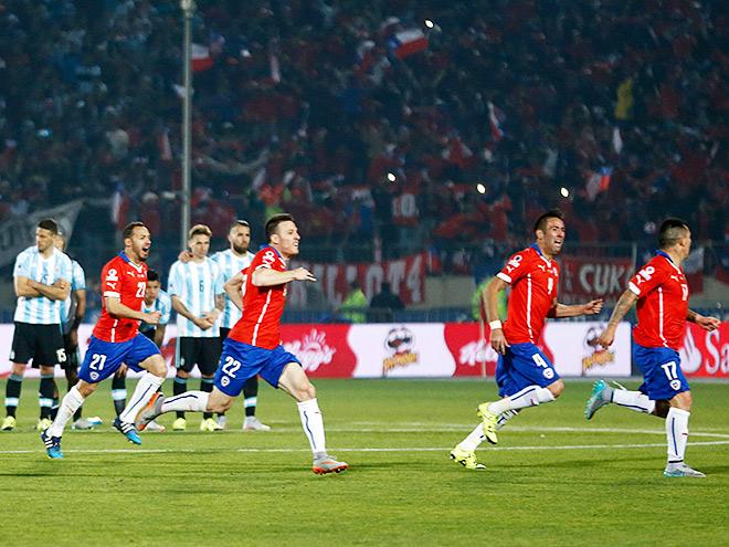 Чили – Аргентина. Обзор матча – 0:0 (5:4)