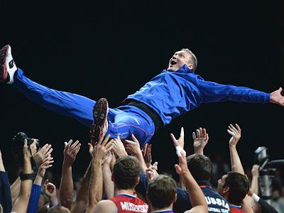 Золотые мгновения российского волейбола в 2013-м