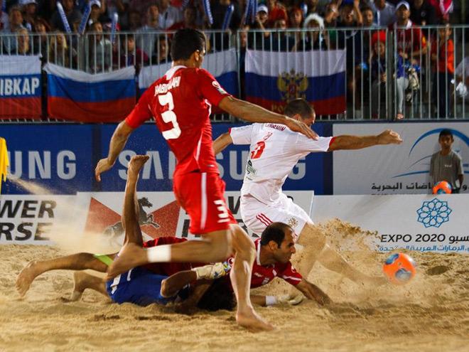 Пляжный футбол. Трансляция матча Россия - Иран