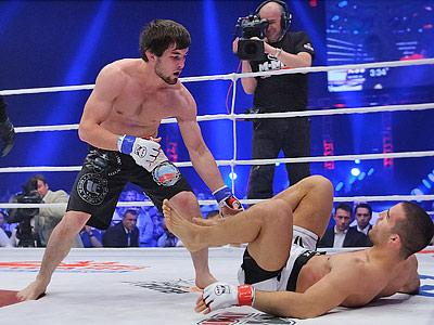 Муса Хаманаев — Даниэль Вайхель.