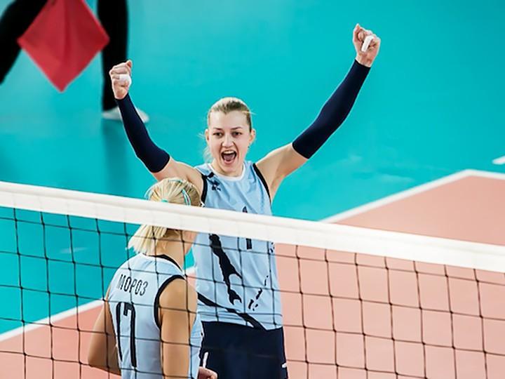 Волейбол. Московское «Динамо» завершило «регулярку» на первом месте