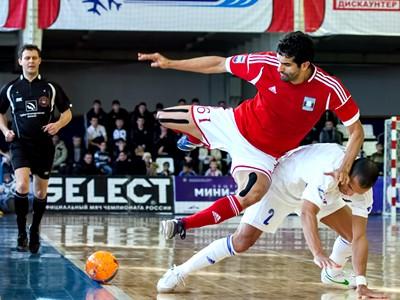 Стартуют полуфиналы мини-футбольной Суперлиги