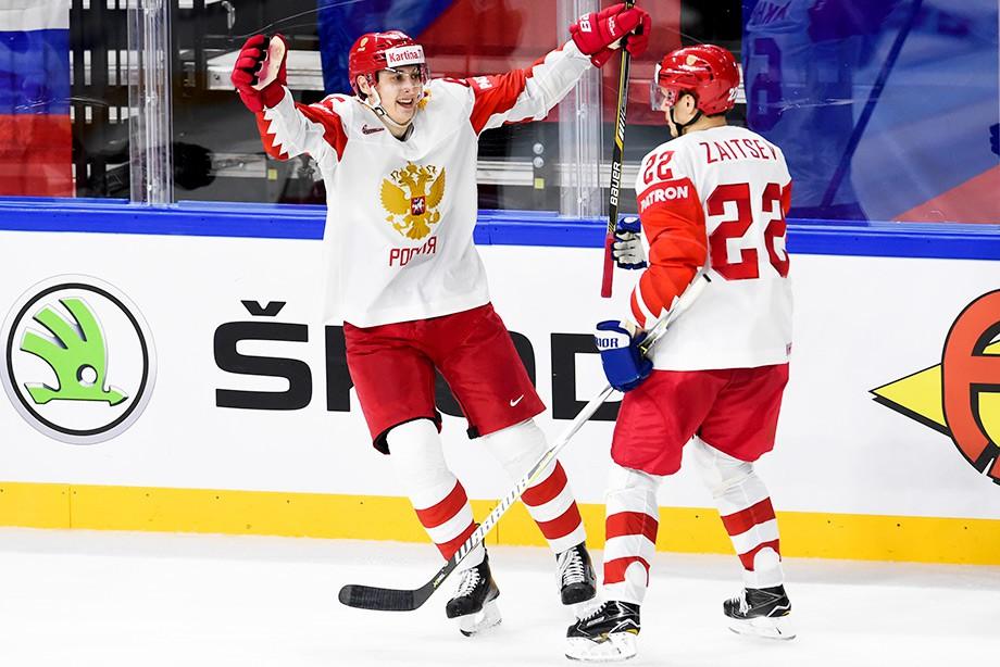 Россия – Австрия – 7:0