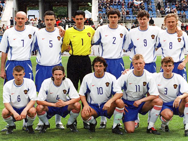 Сборная России перед ЧМ — 2002