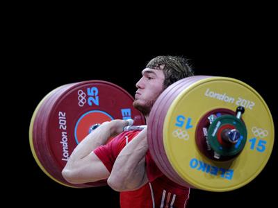 Серебряный призёр Олимпиады в Лондоне Апти Аухадов