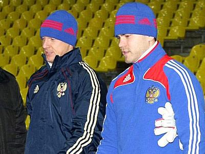 Вячеслав Малафеев и Игорь Акинфеев