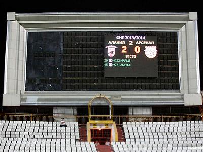 """""""Алания"""" — """"Арсенал"""" — 2:0"""