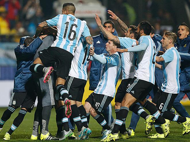 Аргентина – Колумбия. Обзор матча – 0:0 (5:4)