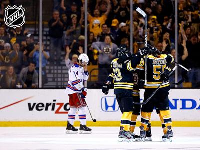 «Бостон» - «Рейнджерс» - 5:2. Матч № 2