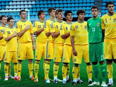 Украинская молодёжная сборная узнала соперников