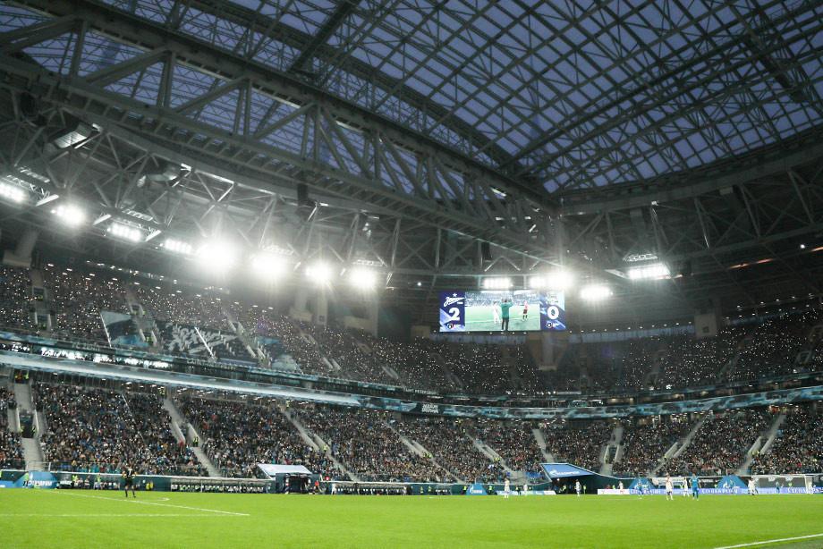 «Зенит» впервый раз вошел втоп-20 самых посещаемых футбольных клубов мира