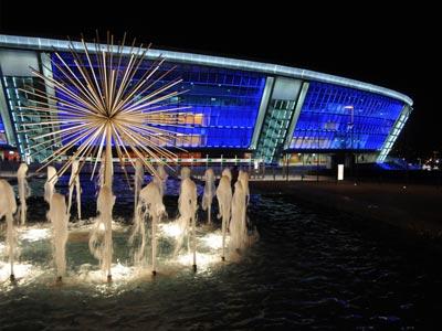 Евро-2012 - отличный шанс для индустриального Донецка сломать стереоти