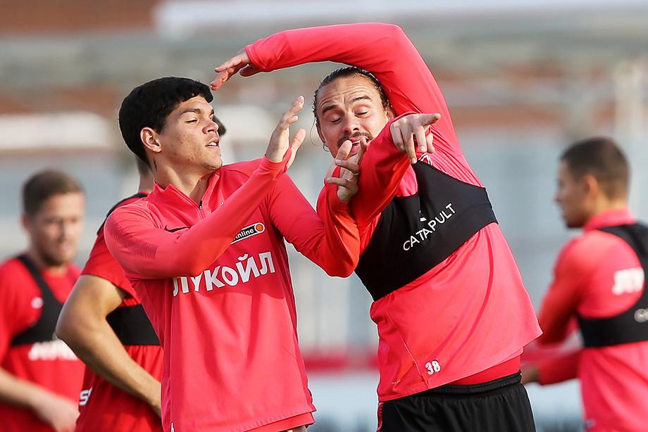 Айртон и Андрей Ещенко
