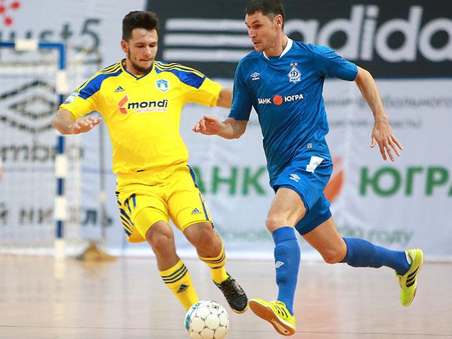 Как «Динамо» вновь обыграло «Новую генерацию» в Суперлиге по мини-футболу
