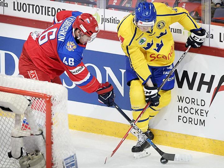 Хоккей. Евротур. Швеция – Россия. Онлайн-трансляция 3 ноября 2016 года