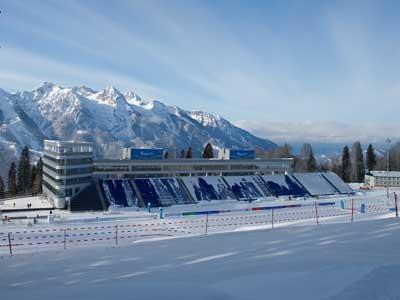 Олимпиада. Репортаж с лыжно-биатлонного комплекса