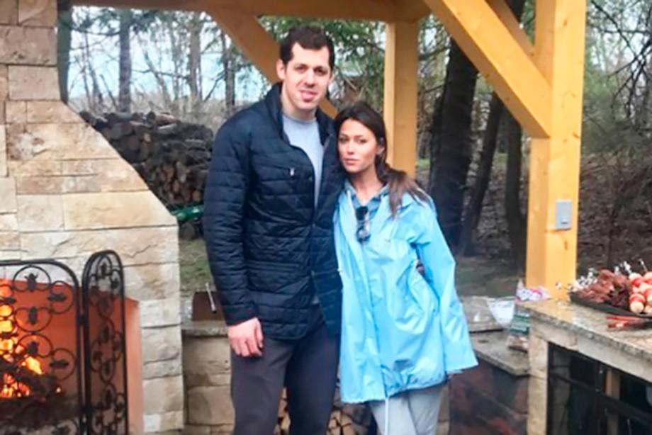 Евгений Малкин и Анна Кастерова