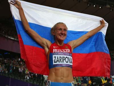 Лондон-2012. Лёгкая атлетика. Юлия Зарипова