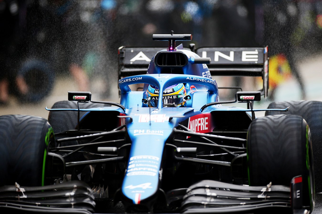 Оценки за Гран-при России Формулы-1