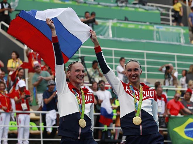 Синхронное плавание. Наталья Ищенко и Светлана Ромашина – о золоте на ОИ