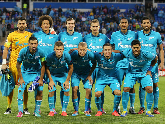 «Зенит» откроет новый сезон Лиги чемпионов