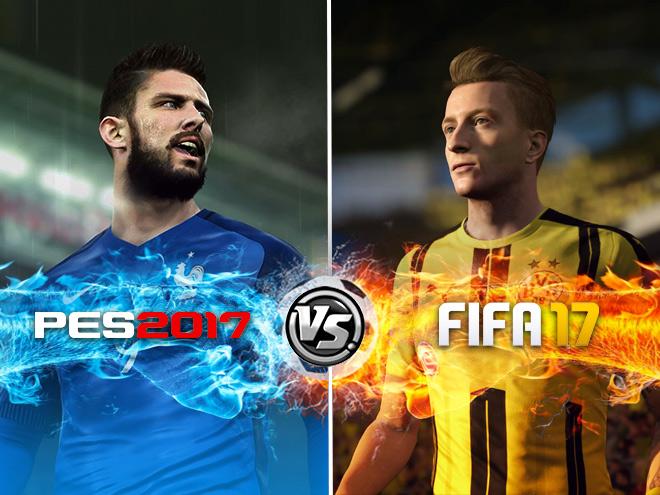 Сравнение двух футбольных симуляторов этой осени