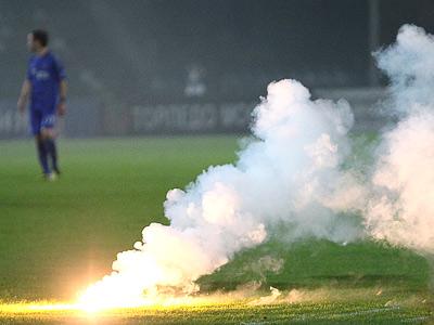 Кубковый матч «Торпедо» - «Динамо» был сорван фанатами