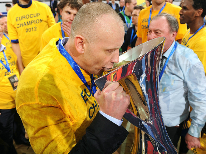 Куртинайтис выиграл с «Химками» два Еврокубка и Единую лигу ВТБ