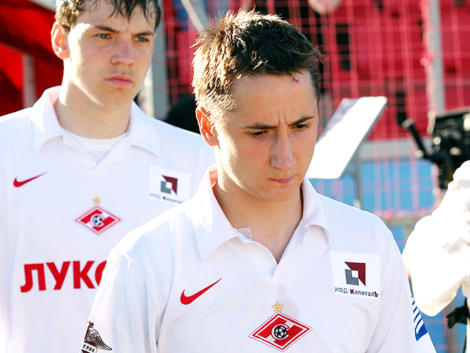 Артём Дзюба и Владимир Быстров