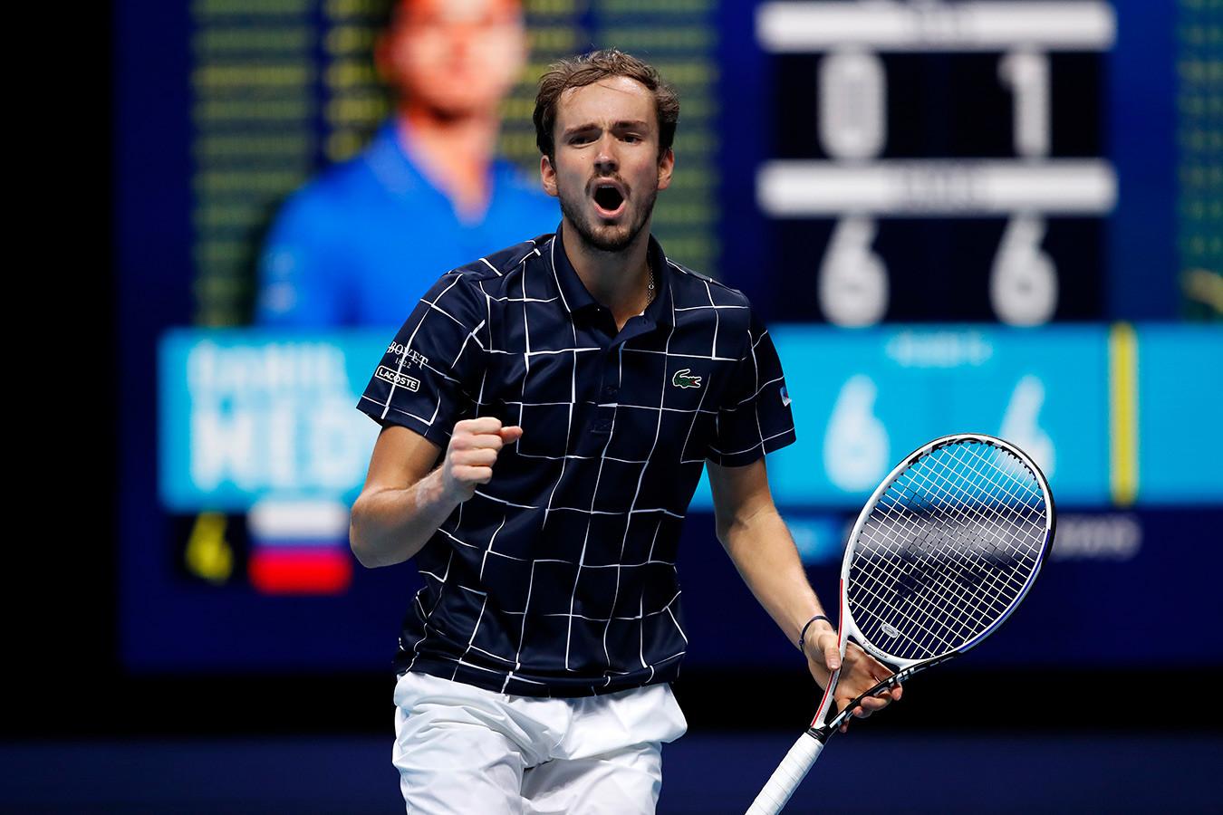 Медведев – в финале Итогового турнира! Даниил впервые в карьере победил Рафаэля Надаля