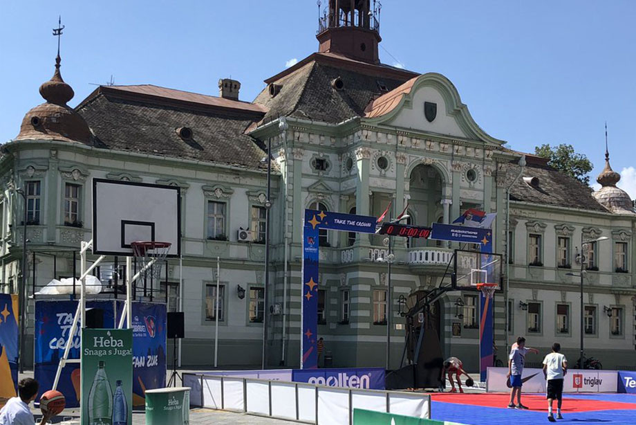 Чем живёт город Зренянин во время женского Евробаскета-2019