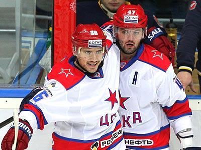 ЦСКА одолел «Атлант» — 2:0