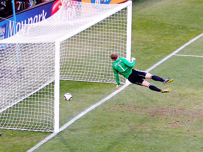 Незасчитанный гол Лэмпарда на Евро-2012