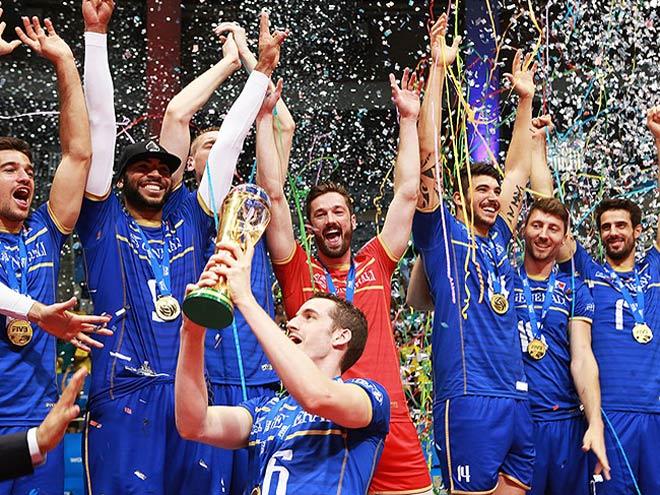 Сборная Франции — чемпион Европы