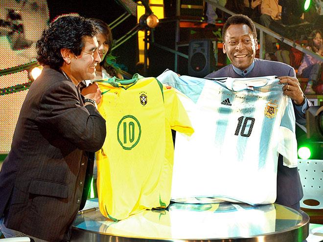 Противостояния: Пеле – Марадона, Месси – Роналду