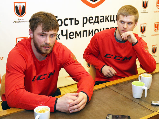 Артём Лукоянов и Фёдор Малыхин