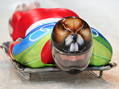 Олимпиада в Сочи. Скелетон