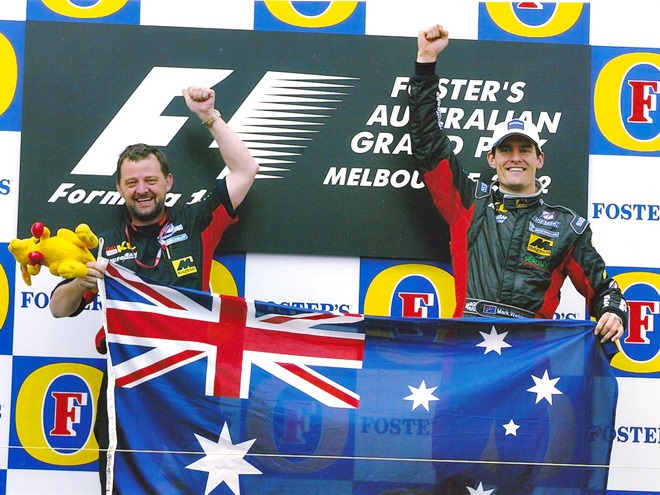 Гран-при Австралии-2002: Марк Уэббер