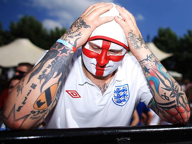Болельщик сборной Англии