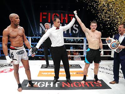 Владимир Минеев стал чемпионом мира WAKO-Pro