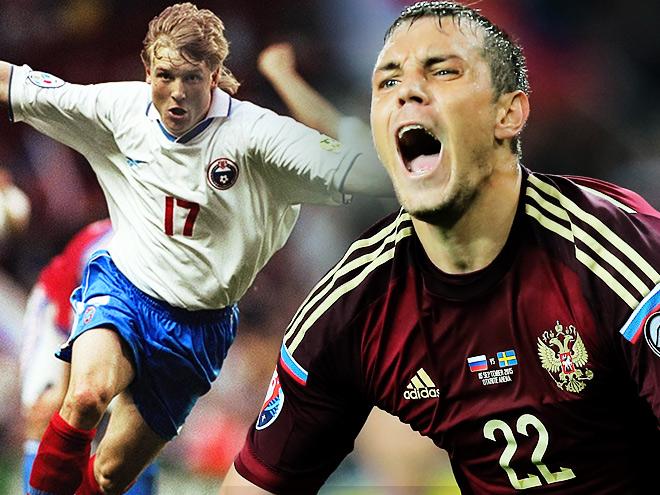 Форма сборной России по футболу: 1992-2015