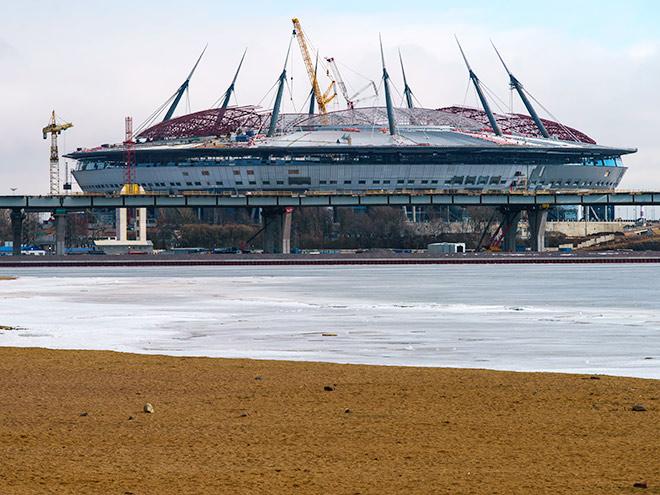 История строительства стадиона «Зенита» на Крестовском острове