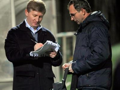 Президент «Шахтёра» пообщался с журналистами