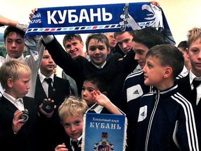 «Кубань» побывала в кадетском училище