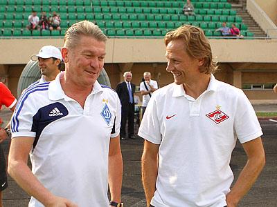 Олег Блохин и Валерий Карпин
